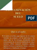 CONTAMINACIÓN DELSUELO