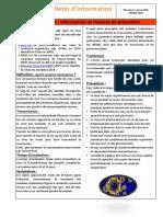 Bulletin d'information  28 JANVIER 2020
