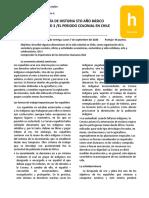Guía n°2 unidad 3 El periodo colonial en Chile