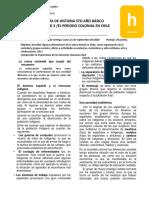 Guía n°3 unidad 3 El periodo colonial en Chile