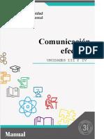 Manual de Comunicación Efectiva - Unidades III y IV.docx