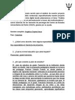 Cuestionario Analisis Conductual