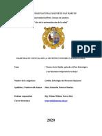 Tecnica de la Rejilla aplicada al Planeamiento estrategico de la empresa y a las funciones del puesto