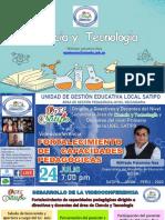 At Ciencia y Tecnología - Wilfredo Palomino Noa - Minedu - Ugel Satipo