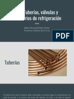 3.3. TUBERIAS VALVULAS Y ACCESORIOS PARA REFRIGERACIÓN