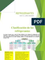 3.1. CLASIFICACIÓN Y SELECCIÓN DE REFRIGERANTESpptx