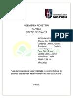 Diseño de Planta - Alnusa sac  - GRUPO N°5.pdf
