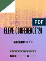 Workbook Eleve Conference 2020