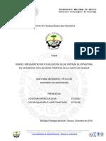 Diseño, implementación y evaluación de un sistema silvopastoril en un rancho con lechería tropical de la Costa de Oaxaca