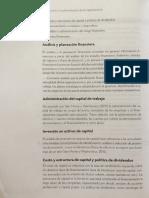 Principales actividades de la administración financiera