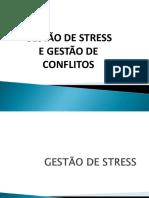 APRESENTAÇÃO GESTÃO DE STRESS E GESTÃO CONFLITOS S5