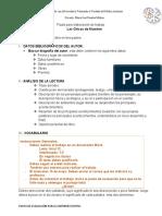 evaluación plan lector