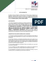 Nota Informativa Del Consejo de La Judicatura Federal Sobre El Caso Florence Cassez (100211)