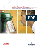 Fisher specification manager software