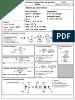 Chimie Resumé grandeur liee a la quantite de matiere.pdf