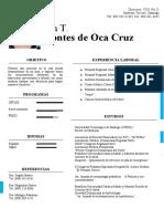Ana T. MONTE DE OCA CRUZ