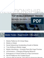 Top Mobile Internet Trends Meeker