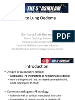 PPT acute lung edema