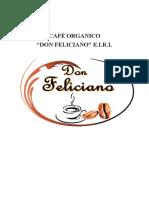 OPERACIONES- Café Don Feliciano