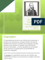 Linguagem, língua, linguística