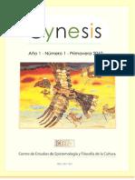 Revista Synesis, Año 1, N° 1, Rosario, primavera de 2010.