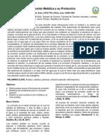 Informe de Laboratorio - Corrosión