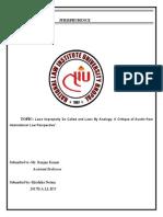 jurisprudence project 1