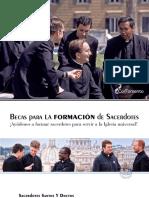 Becas para la formación de sacerdotes - Digital