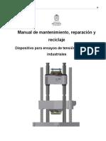 Manual de mantenimiento, reparación y reciclaje