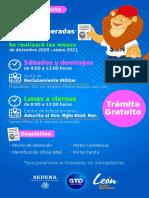 Entrega cartillas León 2020