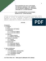Pautas para elaboración de informes