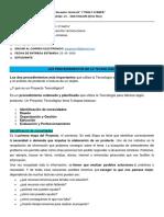 1ro 1ra- cuarta actividad- Educación tecnológica- Jesica García