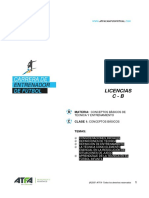 CEF Conceptos basicos de Tecnica y Entrenamiento Clase 1