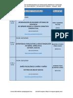 PROGRAMA OFICIAL DE TALLERES 2020