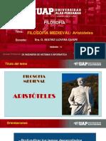 SEMANA 5-LA FILOSOFIA MEDIEVAL-ARISTOTELES