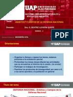 SEMANA 5-AMBITO Y CAMPOS DE LA DEFENSA NACIONAL