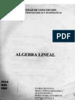 Algebra lineal - Gloria Devaud