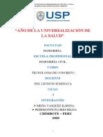 OBRA DE VEREDA -  TECNOLOGIA CONCRETO