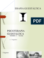 TERAPIA GESTALT. ORIGENES (2)