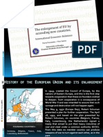 The Enlargement of EU by acceeding new countries - presentation