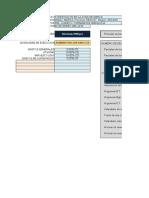 Presupuesto forestal en SRW7pro