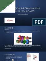Simulacion Transmision Manual PURDUE ADAMS
