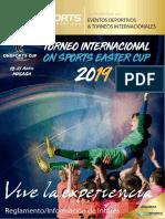 Dossier Informativo Torneos On Sports Easter Cup´19_Semana Santa Málaga_OK