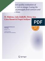 Prevaration & Evaluation April 2020