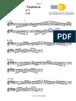 Tonleitern Klarinette (Silber)
