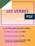 LES VERBES. GROUPES