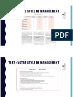 Résultat Test type de leadership