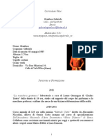 Curriculum Vitae Gianluca Gabriele