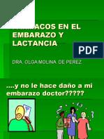 FARMACOS EN EL EMBARAZO Y LACTANCIA