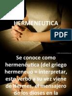 HERMENEUTICA PRELIDERES